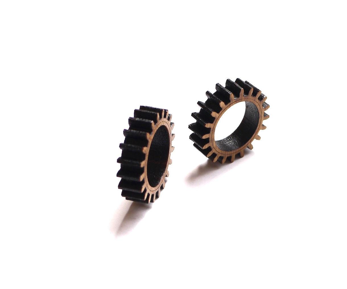 Make Your Own Fidget Rings - DIY Wood Gear Rings