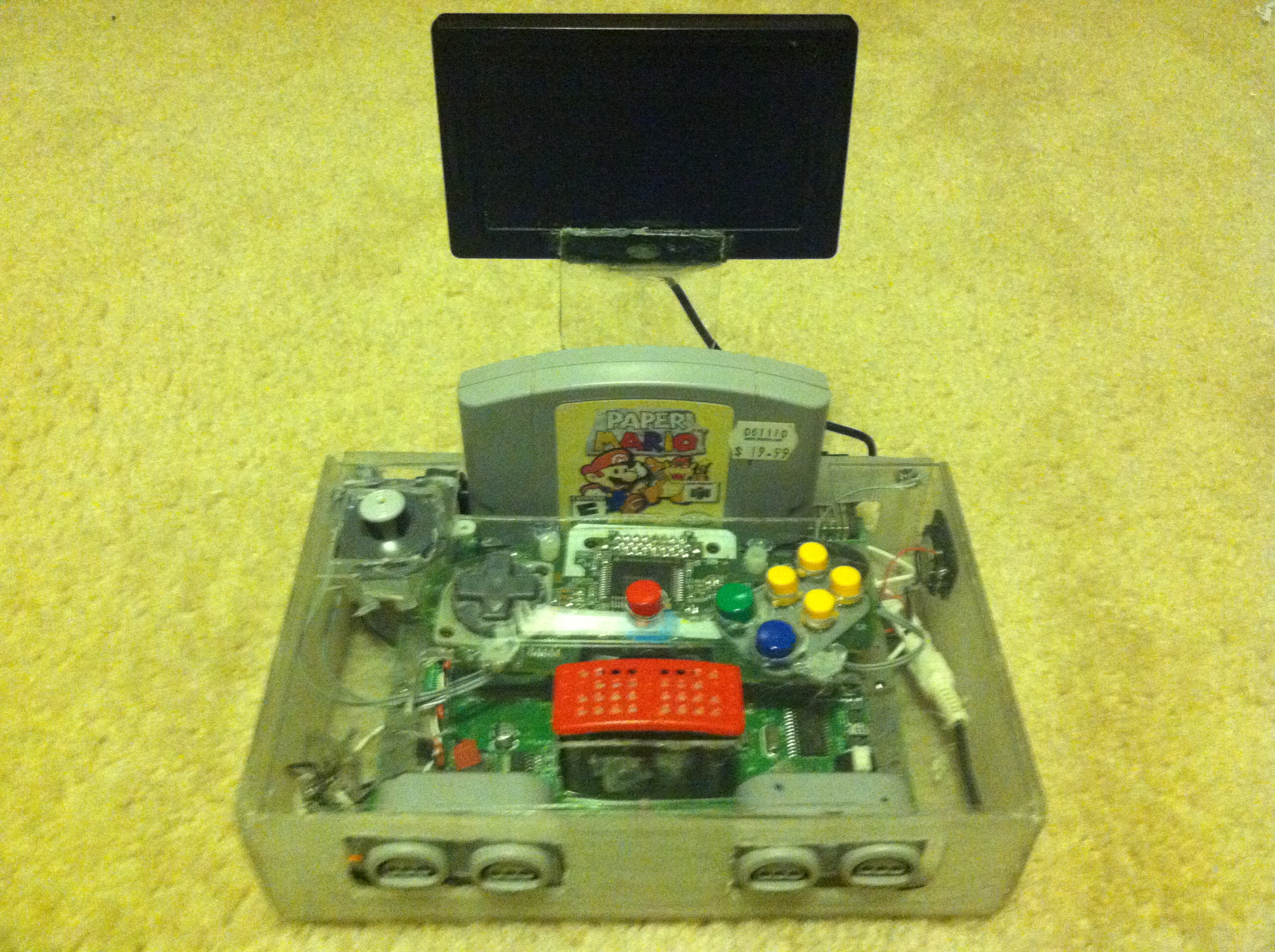 How To Make A Portable Nintendo 64 (steps)