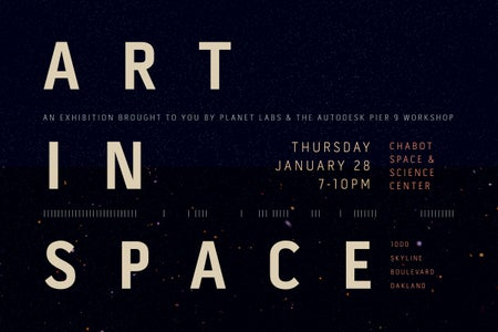 How to Send Art Into Outer Space
