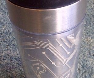 Keyboard Matrix Coffee Cup Design