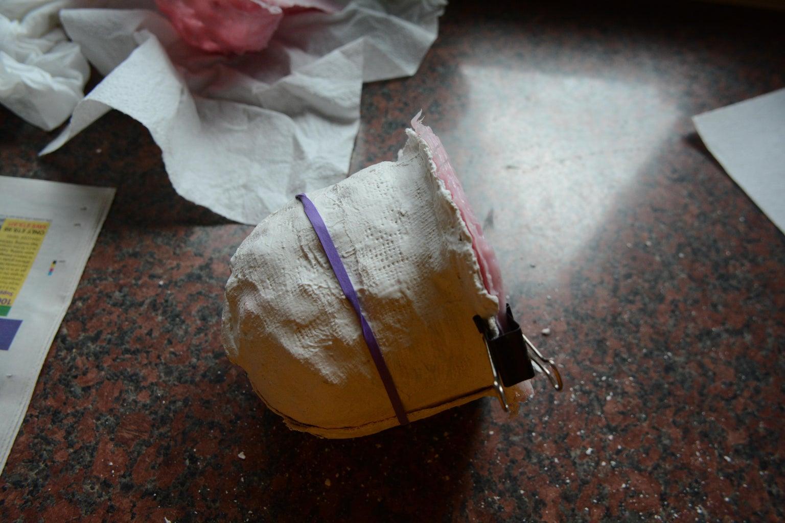 Pineapple- Plaster Casting