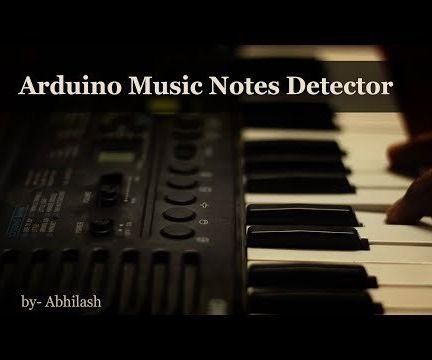 Arduino Music Notes Detector