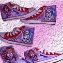 Monster high D.I.Y Canvas shoes