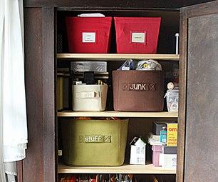组织您的家庭办公室和用品