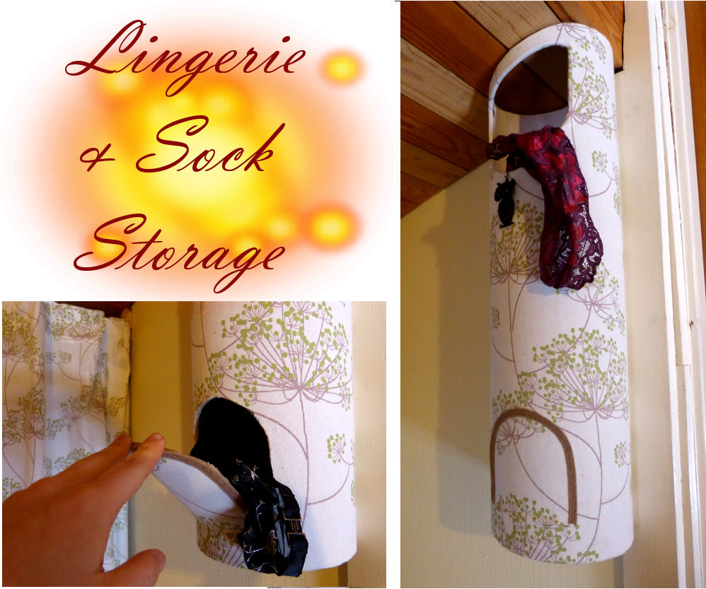 Lingerie / Sock Storage -no Sew