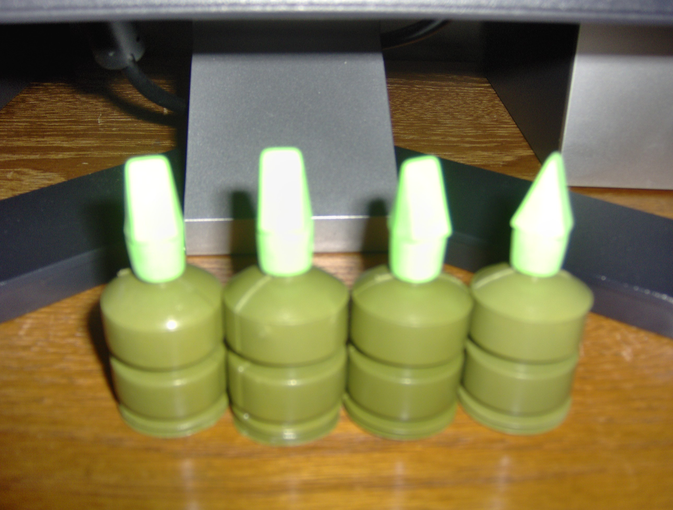 Airsoft BB holder with a party popper