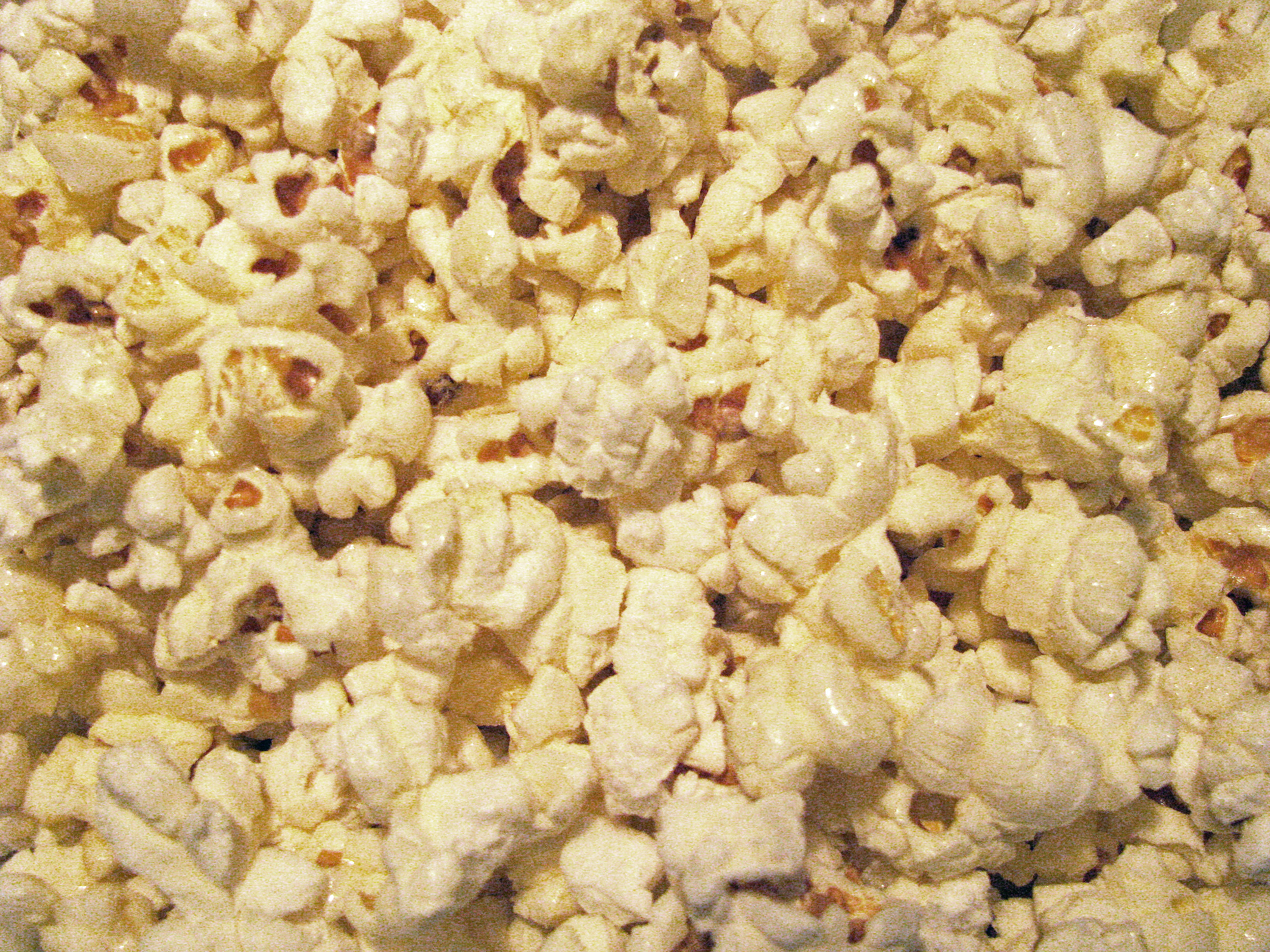 Kettle Corn Popcorn in a pot.