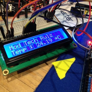 Digital Thermometer With Arduino & DS18B20