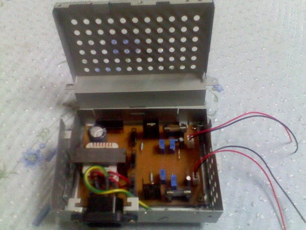 Power Supply (+-5vconst & 0-+-12v Variable)