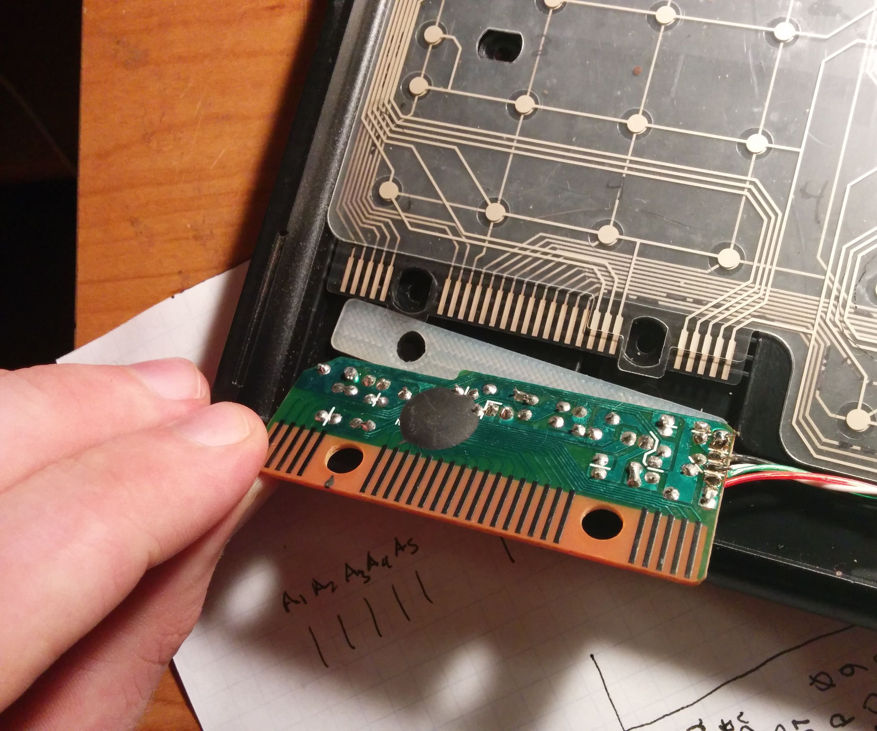 Mapping the innards of a keyboard