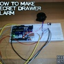 How to Make Secret Drawer Alarm