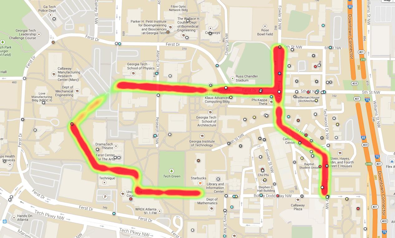 Mapping Streetlight Illuminance