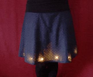 Neopixel LED裙(动作触发)