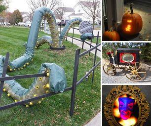 Halloween Decorations Contest Winners