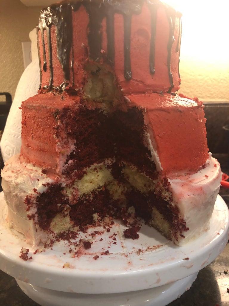 Step 4:   Designing the Cake
