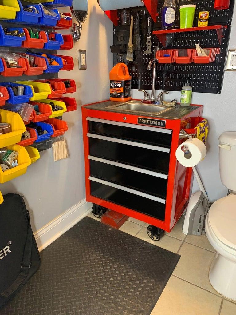 Workshop Toolbox Sink