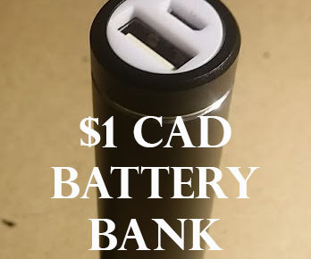 $1 BATTERY BANK FROM OLD LAPTOP CELLS