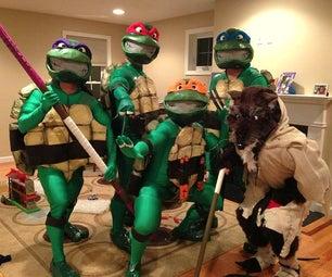 The Teenage Mutant Ninja Turtles Costume
