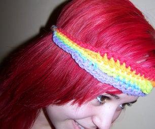 Rainbow Headband and Red Haired Girl