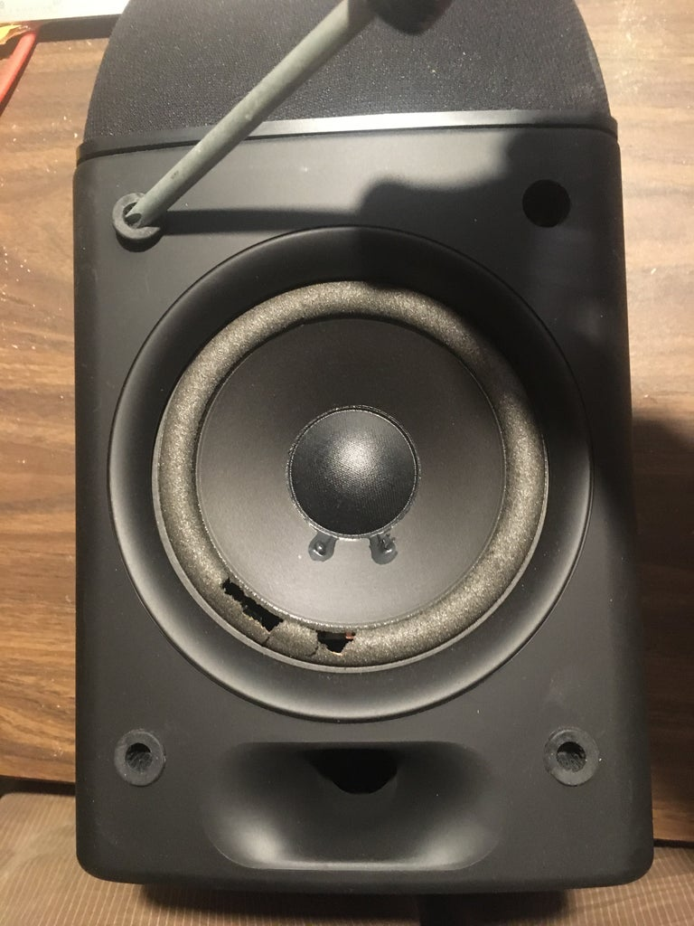 Removal of Old Woofer