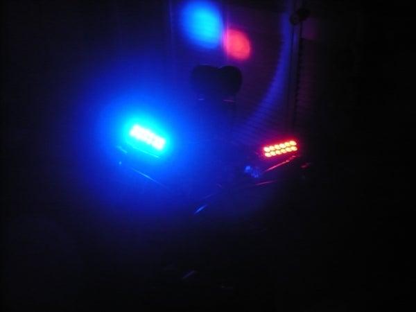 DIY LED Police Bike Lights