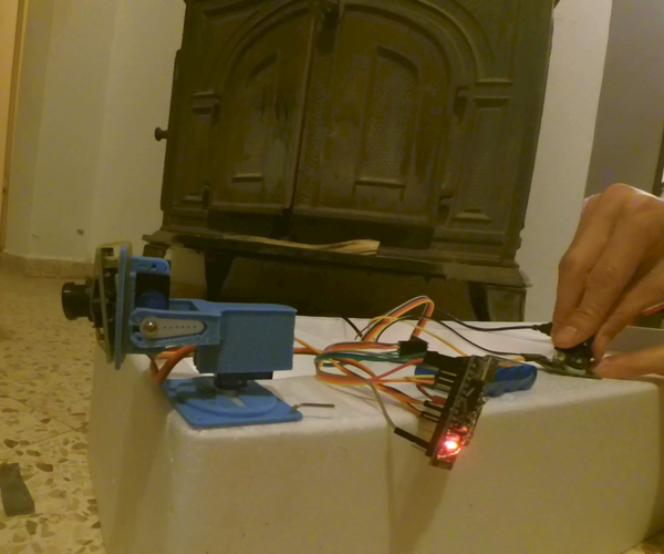 Wireless Pan and Tilt Camera Rig With Arduino