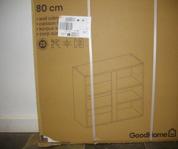 Kitchen Unit Conversion to Corner Cabinet.