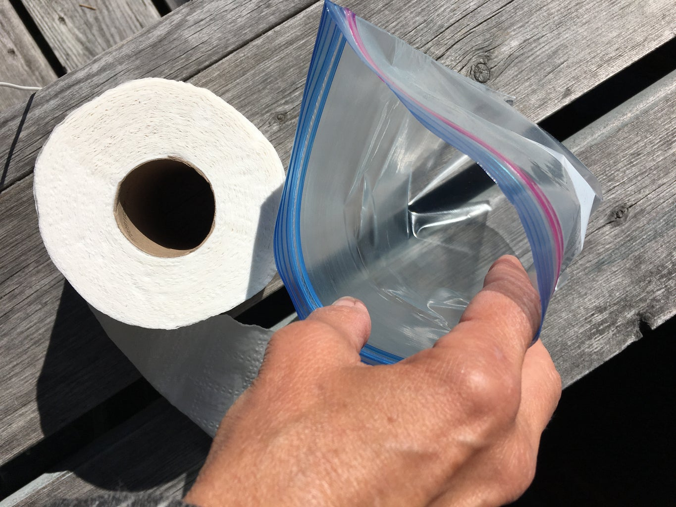 Put the Roll in the Bag