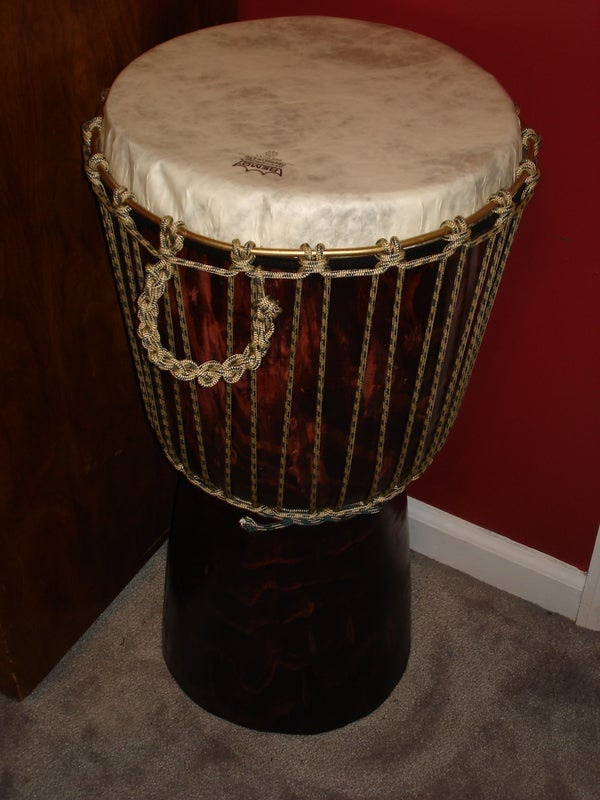 Build Your Own Djembe (and End Table)