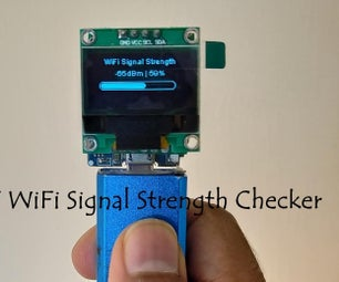 WiFi Signal Strength Scanner Monitor or Checker