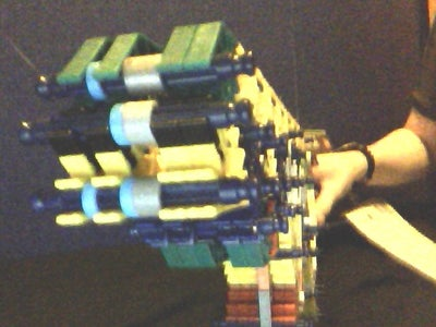 Knex Assault Rifle - KRMA3A1 (Updated 'ible)
