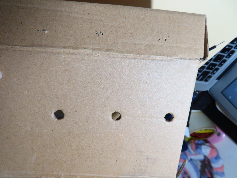 Poke Hole on the Box
