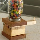 The Awesomest Jelly Bean Dispenser Ever!