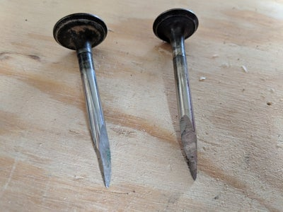 Custom Scrapers and Chisels From Car Valves