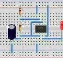 Simple light based proximity sensor