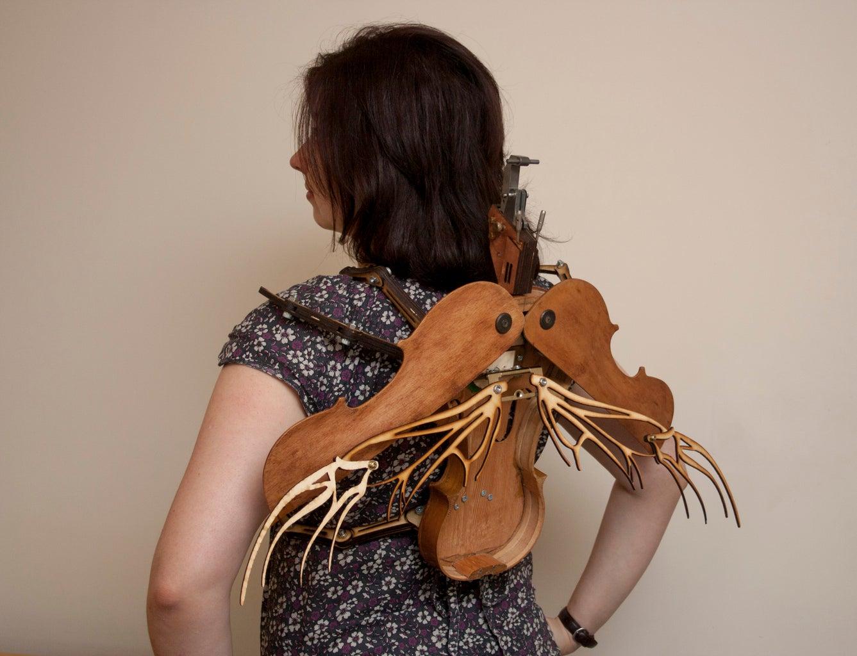 Steampunk Violin Beetle