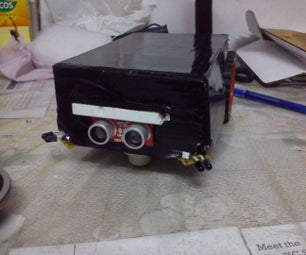 MANUAL / AUTONOMOUS CONTROL ROBOT (USING SENSOR FUSION TECHNIQUE)