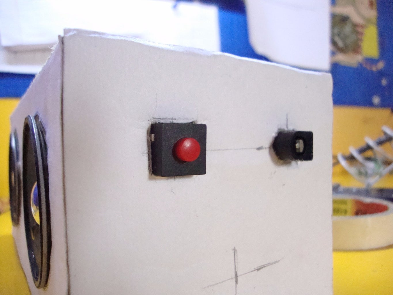 Install and Connect the Toggle Switch