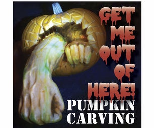 """Get Me Out of Here!"" Pumpkin Carving"