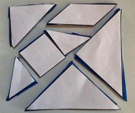Durable Tangram Puzzle