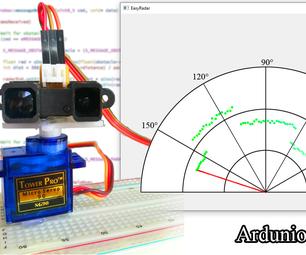 Infrared Radar With Arduino