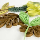 10 Paper Quilling Leaves