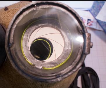 Tim Burton Nine Costume Head: Paint the Eyes