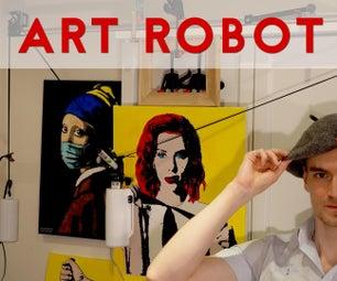 Build A Robot That Creates Art