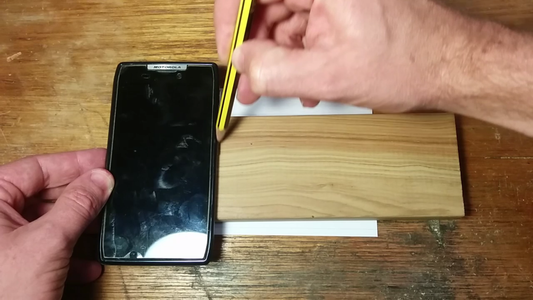 Mark the Length of Your Phone and Saw the Pieces
