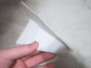 Simple paper air plane.