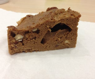 懒人系列之四---办公室五分钟自制巧克力核桃蛋糕