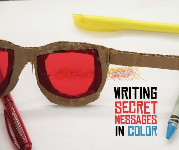 Writing Secret Messages in Color