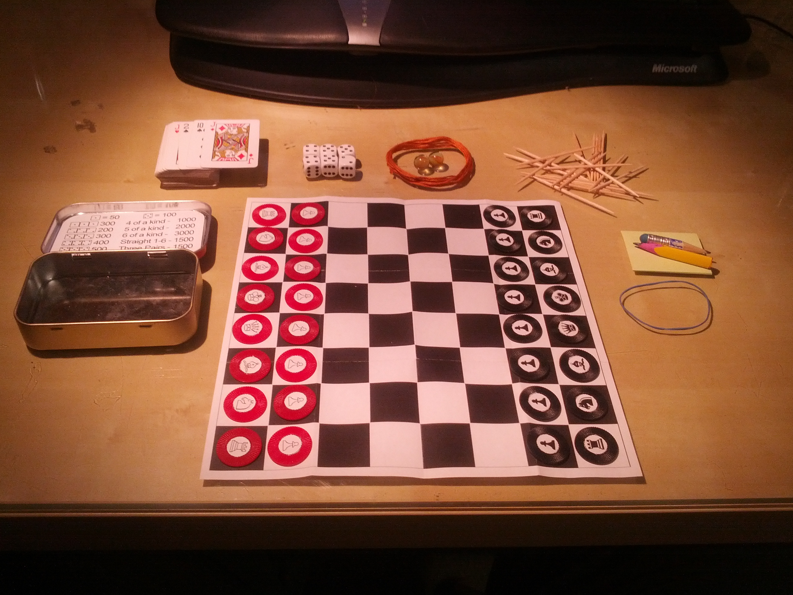 Altoids Game Tin