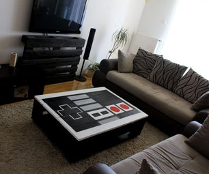 Nintendo NES Pallet Table
